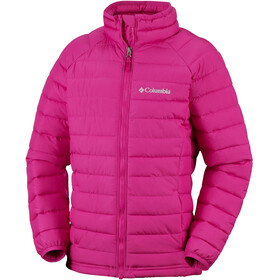 Columbia Powder Lite Hooded Jacket Girls Cactus Pink